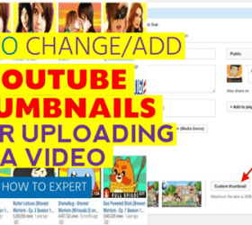 Image: Change YouTube Thumbnails