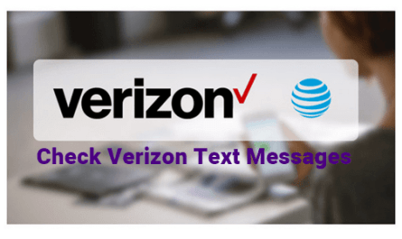 Logo: Check Verizon Text Messages