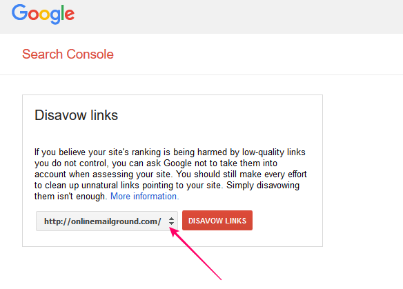 Learn How to disavow Links on Google Webmaster Tool