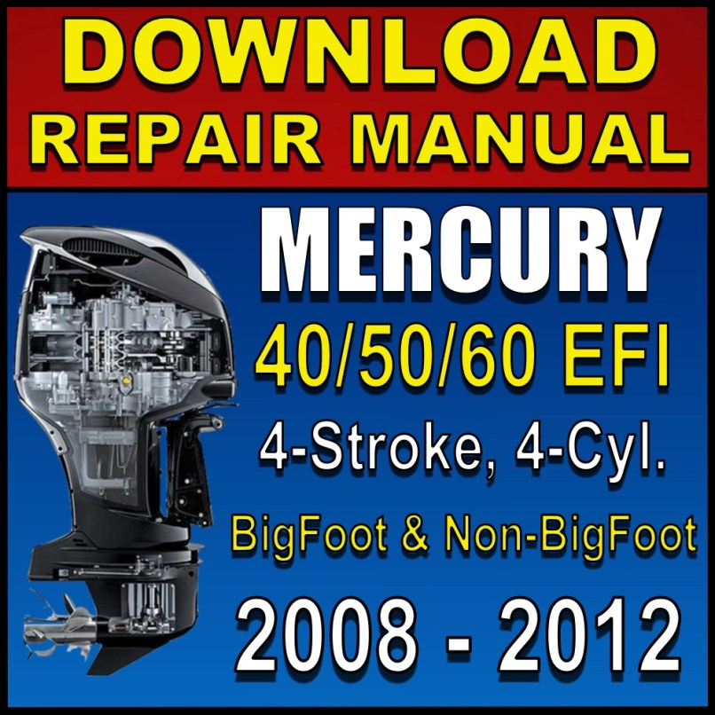 Mercury 60 Hp 4 Stroke Parts Manual