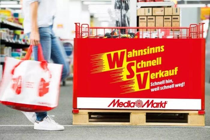 """""""Wahnsinns-Schnell-Verkauf"""" bei MediaMarkt"""