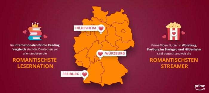 Amazon.de zum Valentinstag – So romantisch sind die Deutschen wirklich