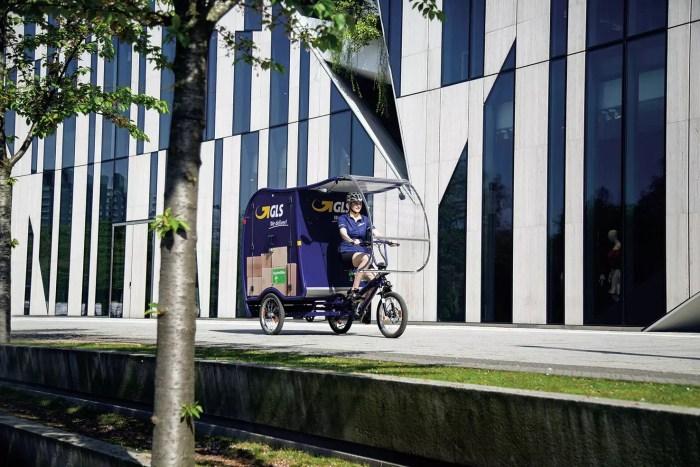 GLS will Pakete in Düsseldorfer Innenstadt komplett emissionsfrei ausliefern