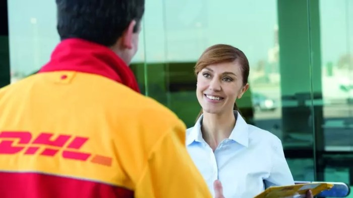 Die Preisanpassungen gelten für die Dienstleistungen von DHL Express, nicht das nationale Paket-Geschäft.