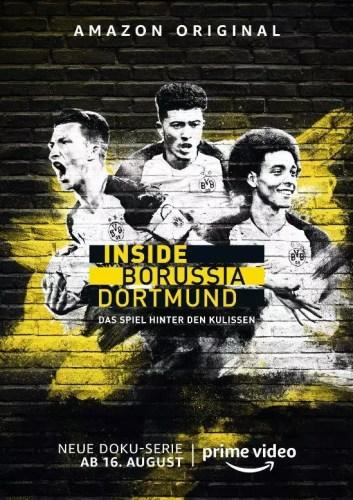 Inside Borussia Dortmund: Amazon Original Doku-Serie startet am 16. August weltweit exklusiv auf Prime Video