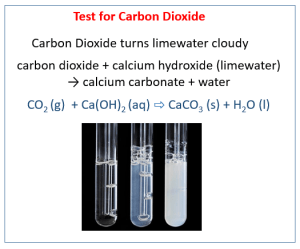 Limewater Test  To check for carbon dioxide in your breath (videos, examples, activities)