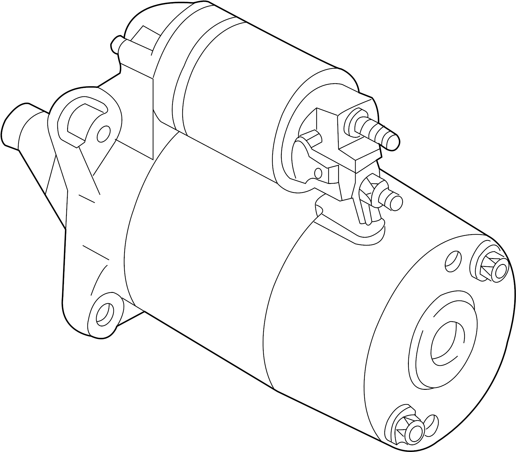 Mazda Starter Motor Starter Remanufactured From 04 23 03 To 04 23 03 Auto