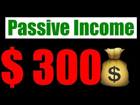 Passive Income | Form Money Online – How I made $300