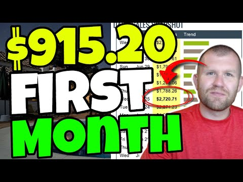 Zero To $915.20 In My ONE Month With Affiliate Marketing and marketing (Exact Month Blueprint For You To Reproduction)