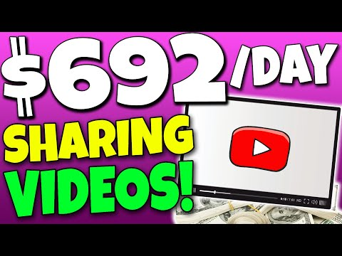Put $692.70 By Sharing Any individual Else's YouTube Videos! *FREE* (Personal Money Online)