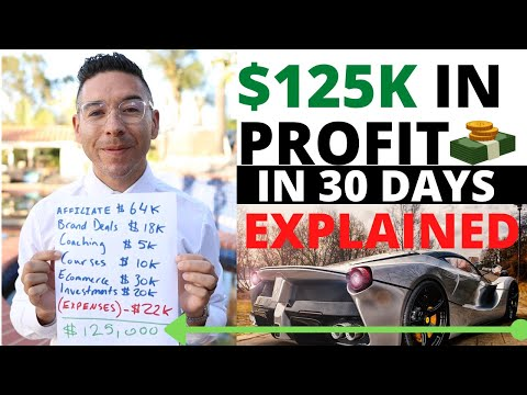 How I Made $125,000 in 30 Days PROFIT Through Affiliate Advertising