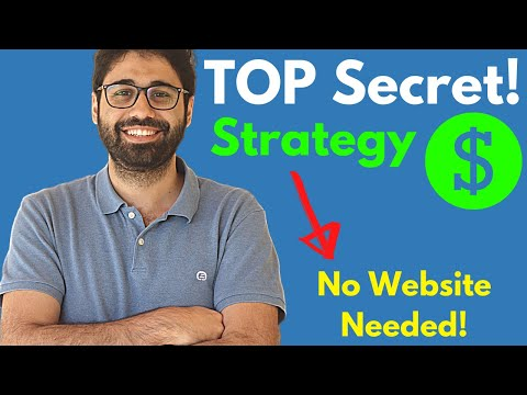 High Secret Affiliate Marketing Strategy – No Internet direct material Required!