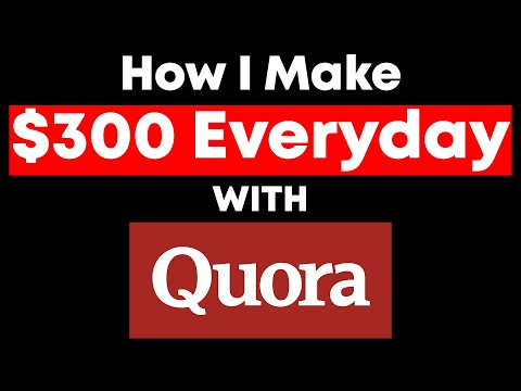 Affiliate Marketing On Quora – I Develop $300/Day With This (Develop Money With Quora!)