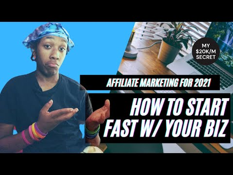 Affiliate Marketing Tutorial 2021 | How To Birth Like a flash And Gape Success