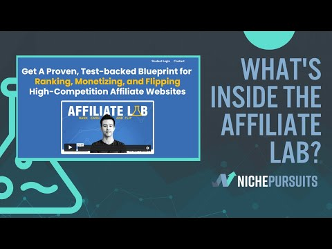 The Most titillating Affiliate Marketing Course?! Affiliate Lab Review (Matt Diggity Course)
