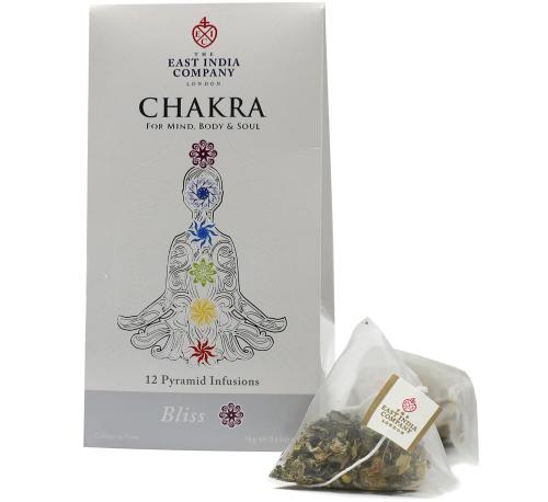 Chakra Bliss Herbal Infusion Pyramid Bags