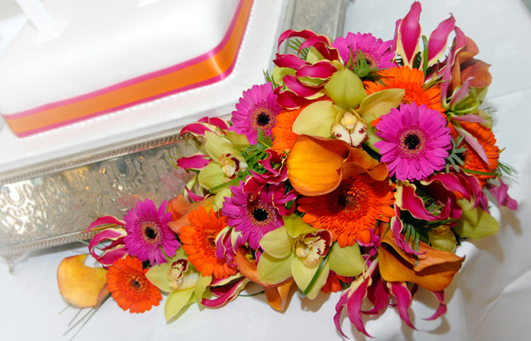 Bold and Bright Wedding Bouquets