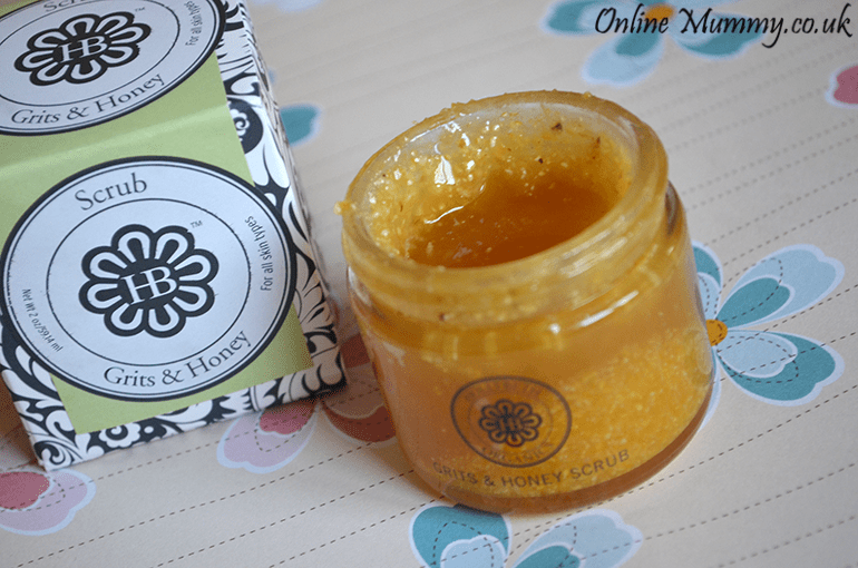 HollyBeth Organics Grits & Honey Scrub