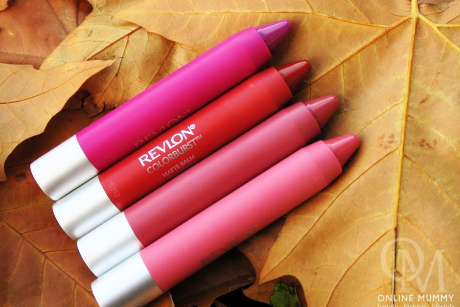 Revlon ColorBurst Matte Balms
