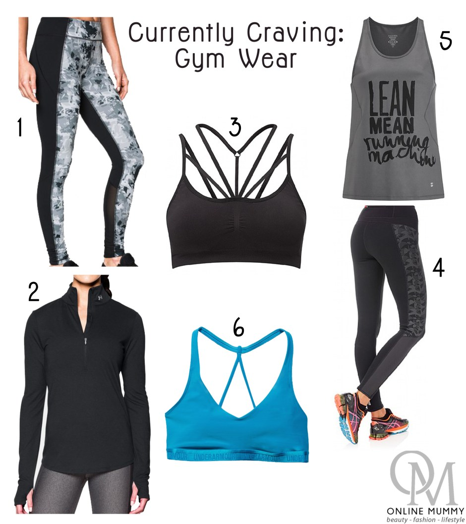 Currently Craving Gym Wear