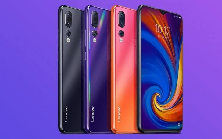 Lenovo z5s specifications
