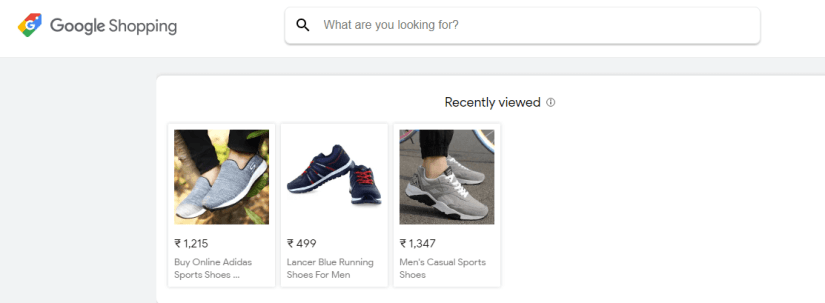 google shopping in india