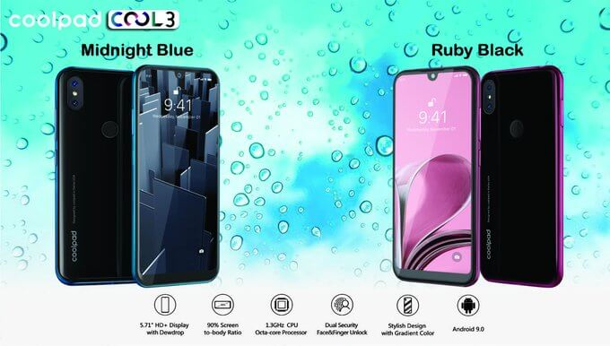 coolpad cool 3 specifications and price in india