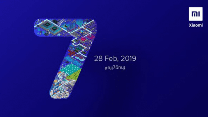 redmi note 7 launch date in india is february 28