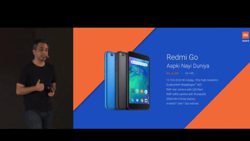 Redmi Go launched In INdia (1)