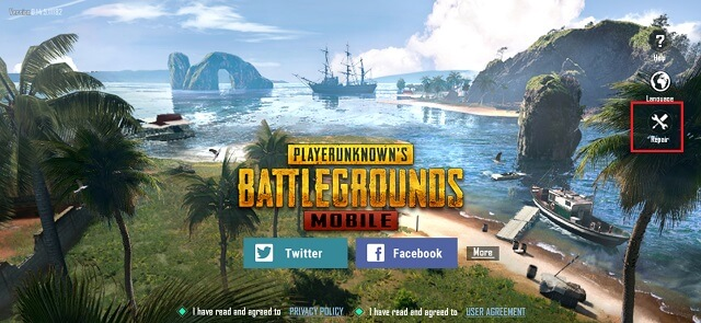 repair pubg mobile to get lower ping in pubg