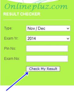 Neco Result Checker