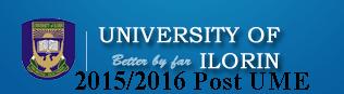 UNILORIN 2015/2016 POST UTME