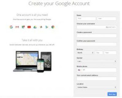 www.gmail.com - Gmail Registration & Gmail Signin Page