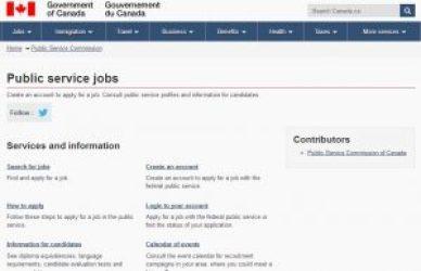 Public Service Commission of Canada