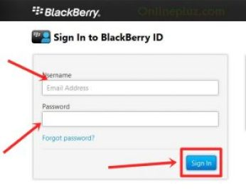 Blackberry Messenger login