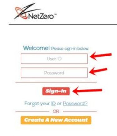 Login NetZero Email