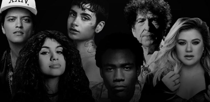 List Of 2018 Grammy Awards Nominees