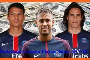 Paris Saint Germain Players Salary 2017/18