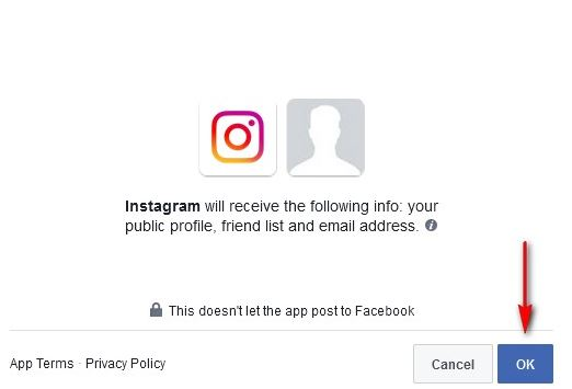 Instagram Sign Up With Facebook Account