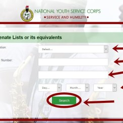 Check NYSC Senate Approved List 2018