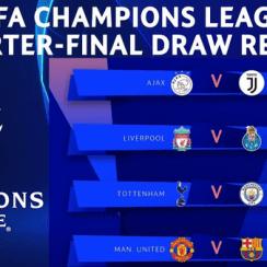 UEFA Champions League Quarter-final Draw