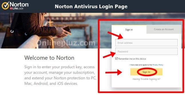 Norton Antivirus Login