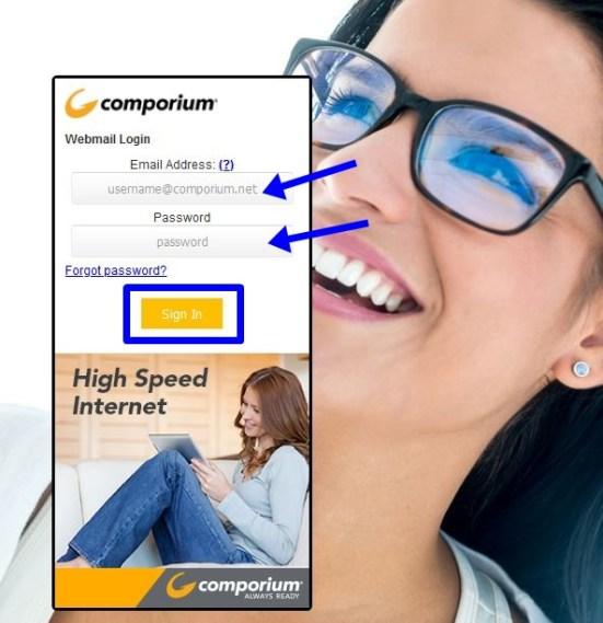 Comporium Webmail Login
