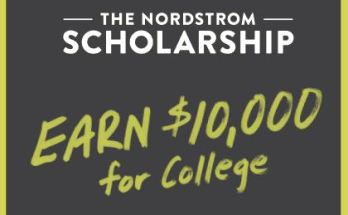 Nordstrom Scholarship Program 2021