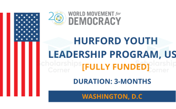 Hurford Youth Leadership Program 2022