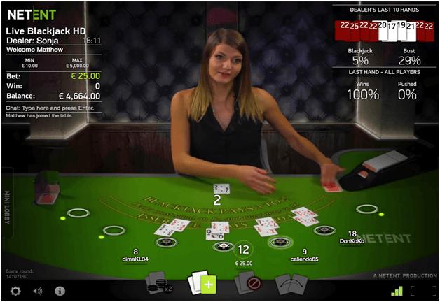 Best casino game to play Blackjack