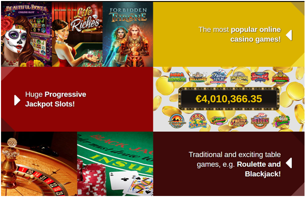 Casino Action NZ- Games