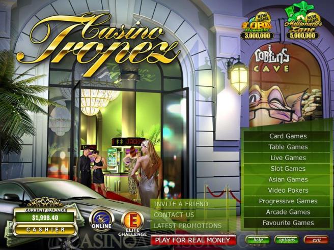 Casino tropez games NZ