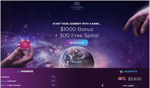 Genesis casino complete review