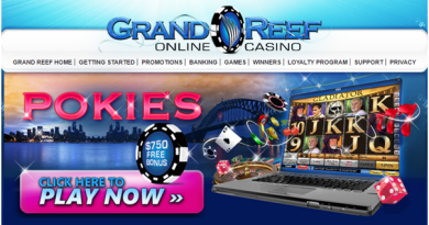 Grand reef casino bonus